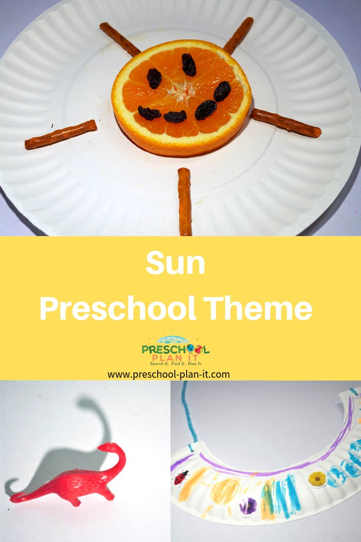 Sun Theme for Preschool