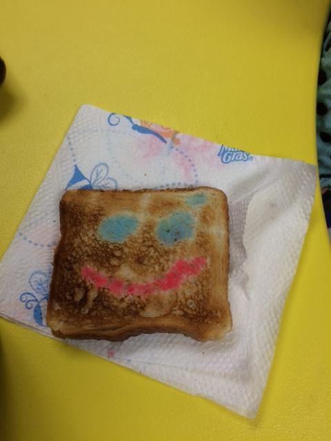 Painted Toast Healthy Snacks for Preschool