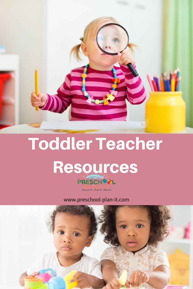 Toddler Teacher Resources