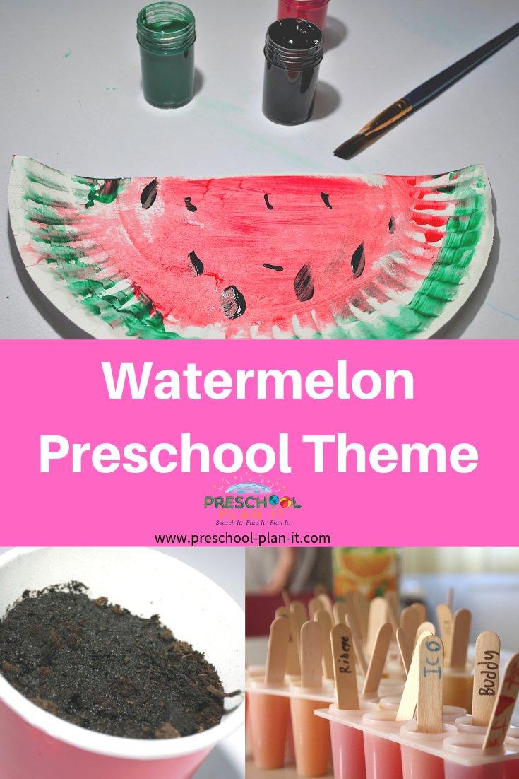 Watermelon Preschool Theme