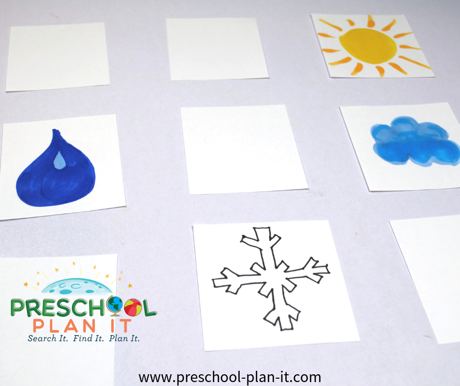 Weather Match Preschool Game