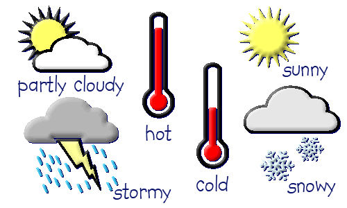 General Weather Preschool Theme
