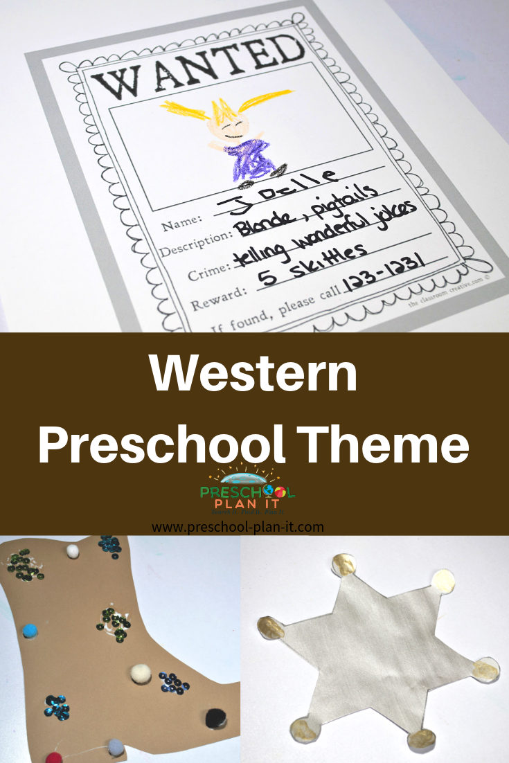 Western Preschool Theme