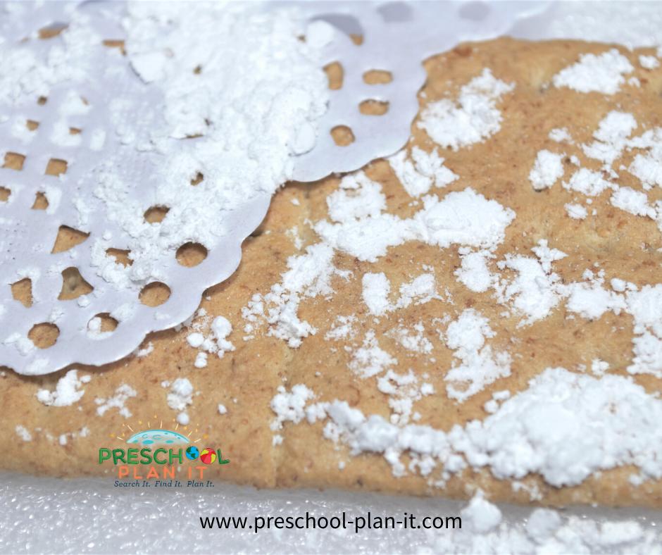 Winter Preschool Theme Snack Idea