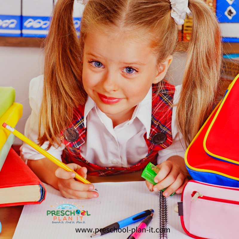 Importance of a writing center in preschool