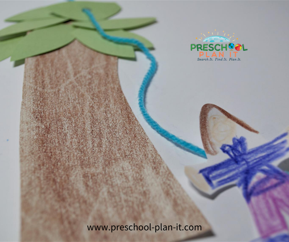Zacchaeus Preschool Theme Gross Motor Activity